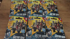 DOCTOR WHO MICRO FIGURE AND DISPLAY BASE SERIES 4 - RECIEVE 6 IN THIS SALE - NEW