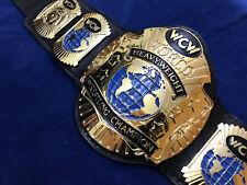WCW WORLD HEAVYWEIGHT BELTIN 4MM ZINC DEEP ETCHING & 24KT GOLD PLATED !