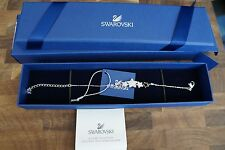 Swarovski Duo Star Bracelet Adjustable Clear/blue Authentic MIB 5179189