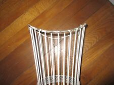 Vintage white wire shabby umbrella stand?