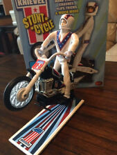 Evel Knievel Stunt Cycle Display Stand Trail Bike California Creations Version