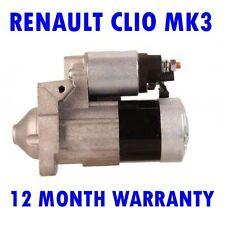 RENAULT CLIO MK3 MK III 1.5 DCI 2010 2011 2012 2013 2014 2015 RMFD STARTER MOTOR
