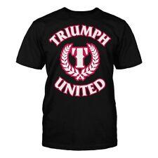 Triumph United Premium Training Tshirt Icon 4 Black Or Red