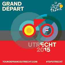 TOUR DE FRANCE 2015 UTRECHT OFFICIAL GRAND DEPART MINI POSTER