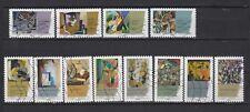 Serie sellos adhesivos de Francia 2012 Yvert AD 699/10