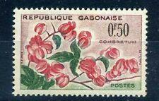 Gabun - 1961, Briefmarke 153, Blumen, Neu