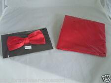 Shiny Red papillon e Hankie Set & LT * una rapida spedizione * & GT disponibile in oltre 50 COLORI
