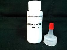 1oz BLUE LIQUID CANDLE DYE EVO FOR SOY WAX CANDLE MAKING SUPPLIES