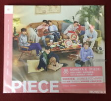 MONSTA X PIECE 2018 Taiwan Ltd CD+DVD (Japanese Lan.)