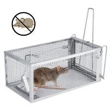 "Rat Trap Cage SmallLive Animal Pest Rodent Mouse Control Bait Catch10.3x5.5x4.5"""