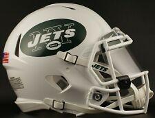 NEW YORK JETS NFL Football Helmet with Nike CLEAR Visor / Eye Shield