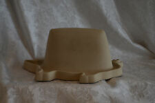 Haeger Natural Stone Bacon pig shaped microwave stoneware pottery