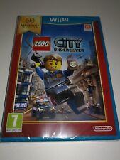jeu Nintendo wii u Lego city undercover