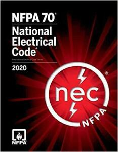 NFPA 70 National Electrical Code (NEC) Handbook, 2020 Edition Paperback Book New