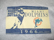 ESPN Monday Night Football MIAMI DOLPHINS Est 1966 AFC East (LG) T-Shirt
