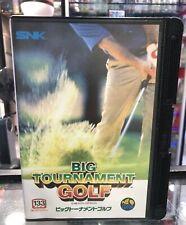 Big Tournament Golf / Neo Geo AES / Convert NCI / JAP Version / Brand New