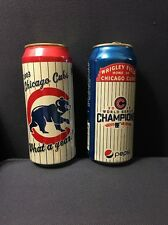 Rare:2 Cans Celebrating CHICAGO CUBS Baseball: 2003 Old Style, 2016 World Series