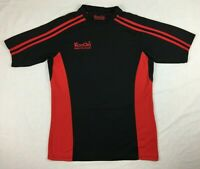 KooGa - Black & Red Rugby Training T-Shirt - Mens - Size S