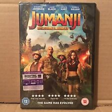 Jumanji - Welcome to the Jungle (DVD, 2017) BRAND NEW FACTORY SEALED