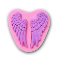 Silicone 3D Angel Wings Mold Fondant Chocolate Sugar Craft Cake Decor DIY Tools