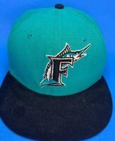 VINTAGE MLB Florida Marlins Size 7 1/8  Hat