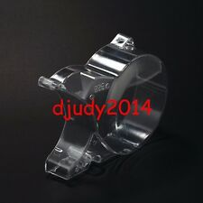Clear Plastic Dirt Pit Bike Ignition Engine Case Stator Side Cover 125 140 150cc