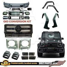 BRABUS G65 W463 G-WAGON G63 AMG BODY KIT CONVERSION 4 FLARE FACELIFT BUMPER NEW