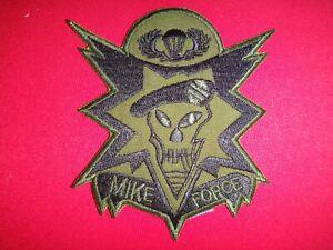 Vietnam War Subdued Patch MIKE Force USSF Advisor ARVN Mobile Strike Force Cmd