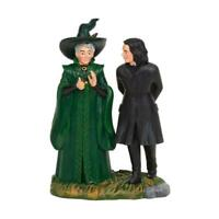 NEW Department 56 Harry Potter Village Snape & McGonagall Figure 6003331