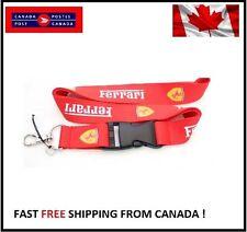 Lanyard Key Chain Strap for Ferrari GTO Enzo F50 Italia California FF Challenge