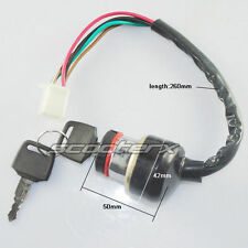 6 Wire Ignition Switch 49cc 50cc 150cc 250cc Moped Scooter Motorcycle Roketa ATV