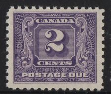 MOTON114    J7 postage due Canada mint  never hinged
