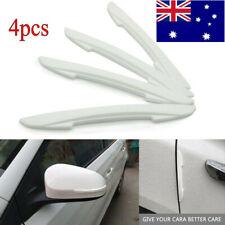 4x White Car Door Edge Protector Trim Guard Sticker For Mazda3 Atenza CX-4 CX-5
