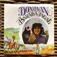 "DONOVAN Jeff Beck BARABAJAGAL Peace and Love promo 7"" 45 giri vinyl Red Ronnie"
