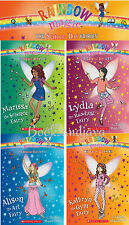 Rainbow Magic School Days Fairies Set 1-4 (pb) Kathryn,Lydia,Alison,Marissa NEW