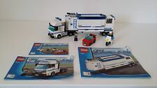 Lego Mobile Police Unit 7288 complete with 3 MiniFigures, Car & Police Motorbike