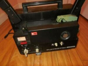 Elmo ST-600 2-Track Super 8mm Sound Projector NO SOUND
