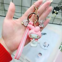 My Melody Keychain Key Chain Fob Keyring Lovely Gift For Girls Sweet Pink