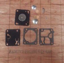 Repair kit WALBRO carburetor McCulloch 110 120 130 140 chainsaw carb overhaul