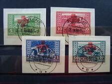 ALBANIA 1924 SERIE COMPLETA USATA N. 100-103 CAT. MICHEL € 120,00