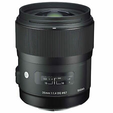 Sigma 35mm f/1.4 DG HSM Art Lens (for Sony E-Mount) w/FREE Hoya NXT+ UV *NEW*