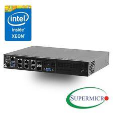 Supermicro SuperServer E300-8D 1U Mini PC Server - 1 x Intel Xeon D-1518