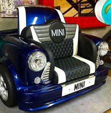 Classic Mini Cooper Sofa Perfect For Home Cinema Like A Drive Thru Movie Etc