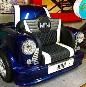 Classic Mini Cooper Sofa Perfect For Home Cinema Like A Drive Thru Movie Etc