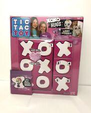"""Tic Tac Toy XOXO Hugs 1 SET Plush PURPLE (""""Koko"""" or """"Emma"""") New in Box!"""