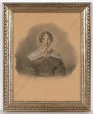 "Charles Backofen ""Portrait of Auguste Bischoff-Backofen"", drawing, 1843"