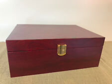 Brand New In Box Large C5 Size Quality Timber PNC Medallion Cover Storage Box