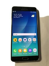Samsung Note5 - Sprint Clean ESN- 32GB - Screen Burn N920P Black Smartphone