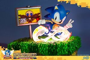 Sonic The Hedgehog - 25th Anniversary Sonic Exclusive Diorama Statue - F4F