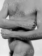Original 1984 male nude art photograph by YOLA ZUCHNIEWICZ, graduate of FAMU